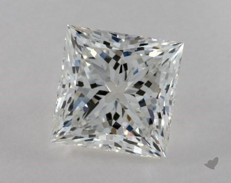 2.01 Carat G-VS1 Ideal Cut Princess Diamond