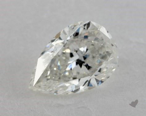 1.01 Carat H-SI2 Pear Shape Diamond