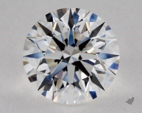 2.47 Carat D-VVS2 Excellent Cut Round Diamond