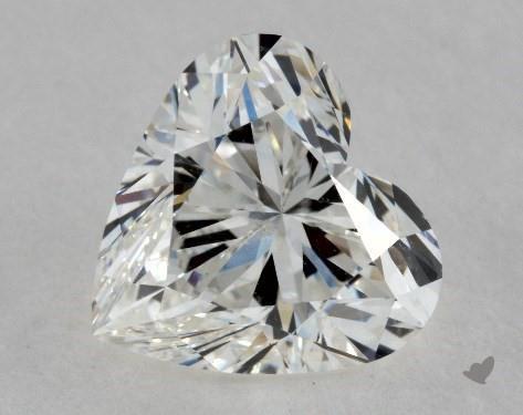 1.70 Carat H-SI2 Heart Shape Diamond