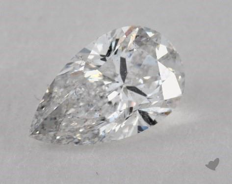 1.51 Carat E-SI2 Pear Shape Diamond