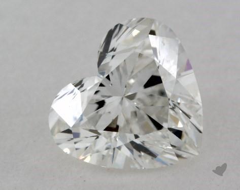 0.81 Carat H-VS2 Heart Shape Diamond