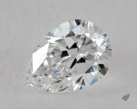 0.92 Carat E-VS2 Pear Shape Diamond