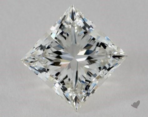 1.00 Carat I-SI2 Ideal Cut Princess Diamond