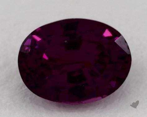 Gemstones Pink Sapphire 1 32 Carat Oval Sku 17578