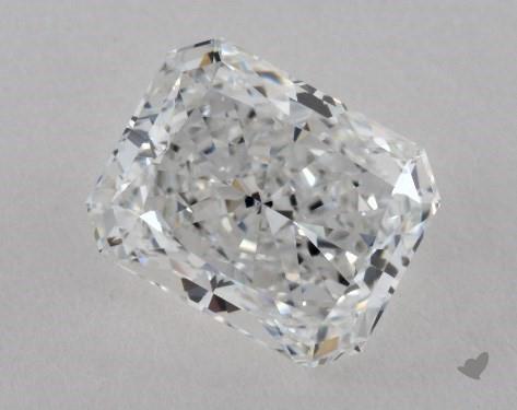 1.51 Carat F-VVS1 Radiant Cut Diamond