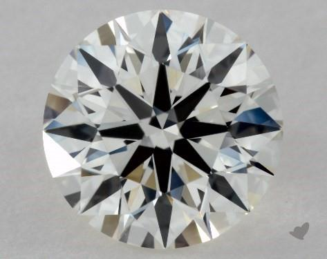 1.01 Carat J-IF Excellent Cut Round Diamond