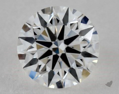 1.01 Carat E-VS1 True Hearts<sup>TM</sup> Ideal Diamond