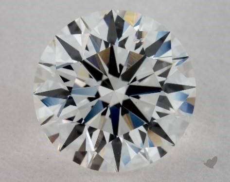 1.34 Carat G-SI1 Excellent Cut Round Diamond