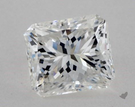 1.04 Carat F-IF Radiant Cut Diamond