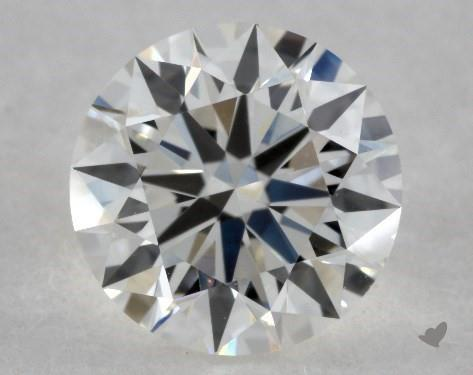 0.72 Carat H-VS2 Excellent Cut Round Diamond