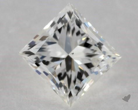 0.71 Carat J-VS2 Ideal Cut Princess Diamond