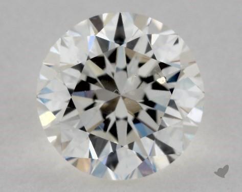 1.00 Carat H-SI1 Good Cut Round Diamond