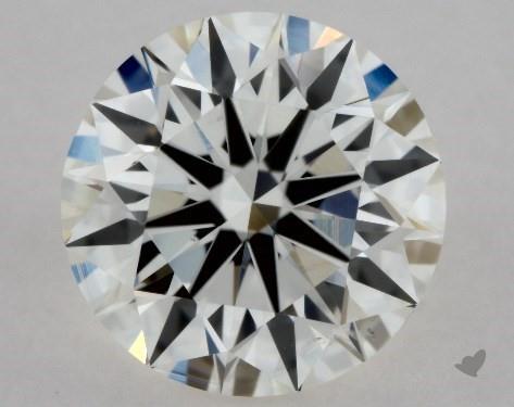 1.00 Carat I-SI1 Excellent Cut Round Diamond
