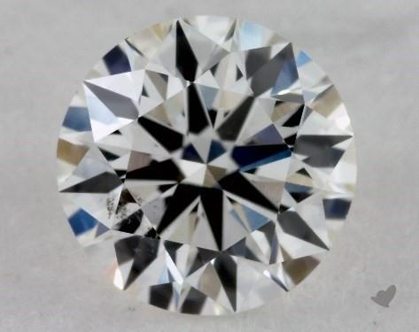 0.61 Carat G-SI1 True Hearts<sup>TM</sup> Ideal Diamond