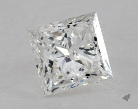 0.84 Carat I-I1 Very Good Cut Princess Diamond