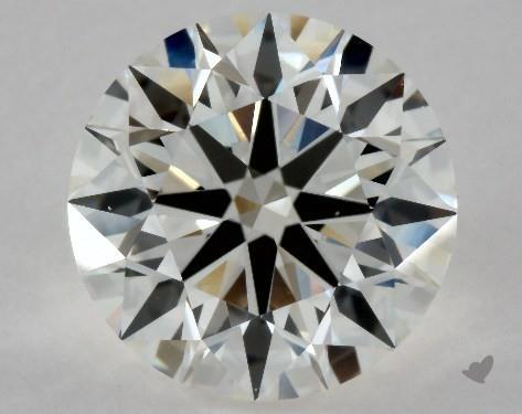 2.17 Carat I-VS1 Excellent Cut Round Diamond