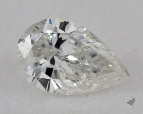 0.90 Carat H-SI2 Pear Shape Diamond
