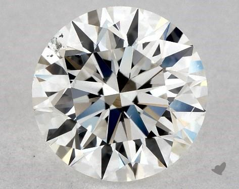 1.01 Carat F-SI1 Excellent Cut Round Diamond