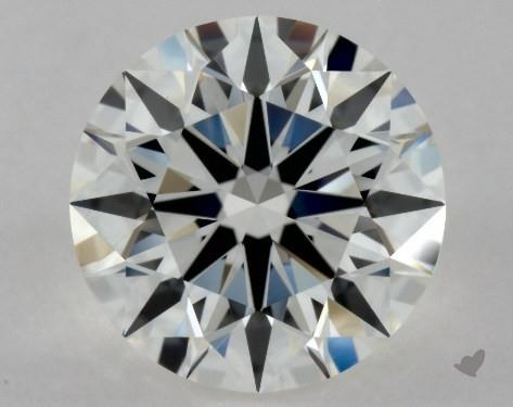 1.02 Carat H-VVS2 Excellent Cut Round Diamond