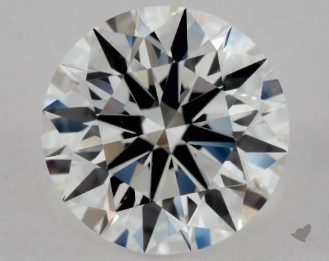 1.05 Carat E-VS1 Excellent Cut Round Diamond
