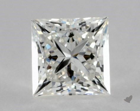 1.03 Carat G-VS1 Ideal Cut Princess Diamond