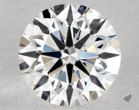 0.40 Carat H-SI1 Excellent Cut Round Diamond