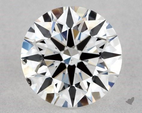 0.73 Carat E-SI1 True Hearts<sup>TM</sup> Ideal Diamond