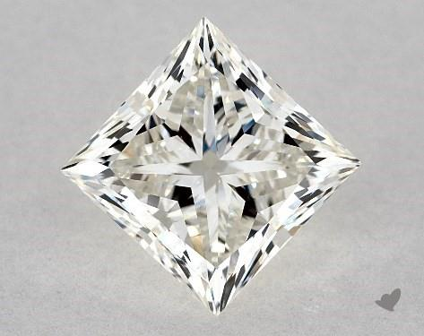 2.01 Carat H-VVS2 Ideal Cut Princess Diamond