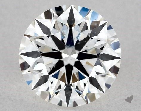 0.70 Carat F-SI1 True Hearts<sup>TM</sup> Ideal Diamond