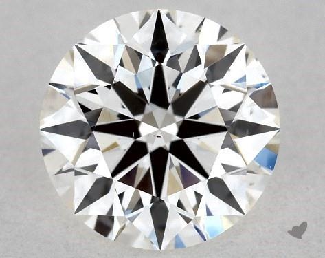 0.70 Carat G-VS2 True Hearts<sup>TM</sup> Ideal Diamond