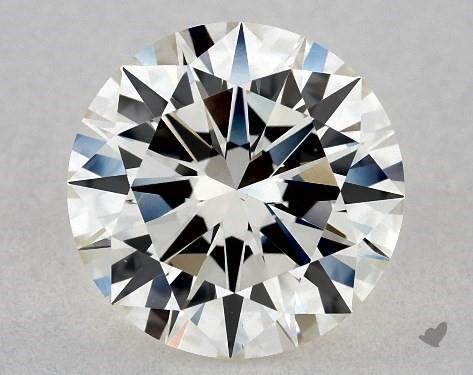 1.08 Carat J-VVS2 Excellent Cut Round Diamond