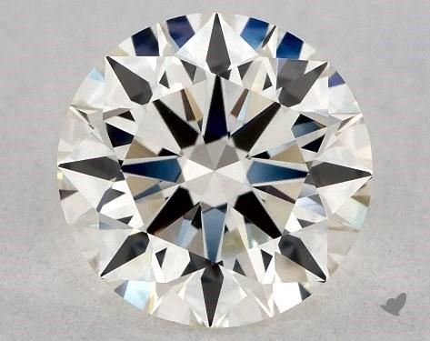 0.91 Carat I-VVS2 Excellent Cut Round Diamond