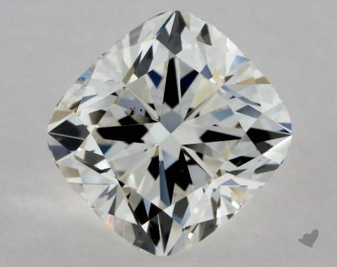 1.91 Carat H-SI1 Cushion Modified Cut Diamond