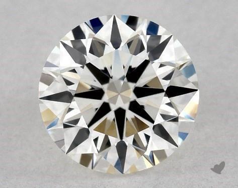 0.70 Carat G-VS1 Ideal Cut Round Diamond