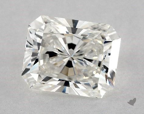 2.04 Carat G-VVS1 Radiant Cut Diamond