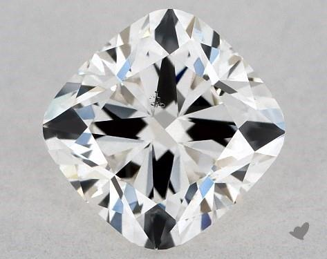 0.72 Carat H-VS2 Cushion Modified Cut Diamond