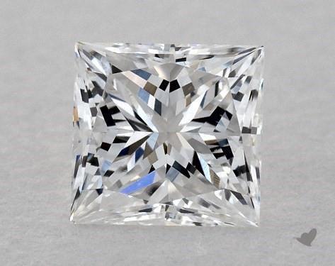 0.38 Carat E-VS1 Very Good Cut Princess Diamond