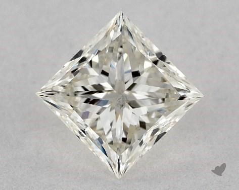 0.73 Carat J-VS2 Ideal Cut Princess Diamond