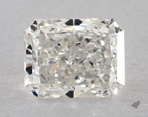 0.71 Carat H-VS2 Radiant Cut Diamond