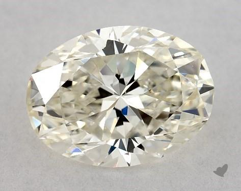 1.70 Carat K-VS1 Oval Cut Diamond