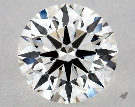 0.71 Carat H-VS1 True Hearts<sup>TM</sup> Ideal Diamond