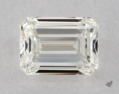 1.00 Carat H-VVS2 Emerald Cut Diamond