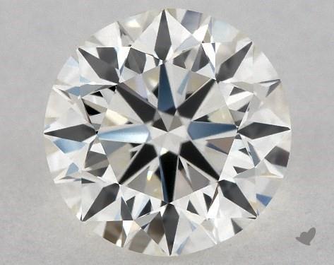 1.01 Carat H-IF Excellent Cut Round Diamond