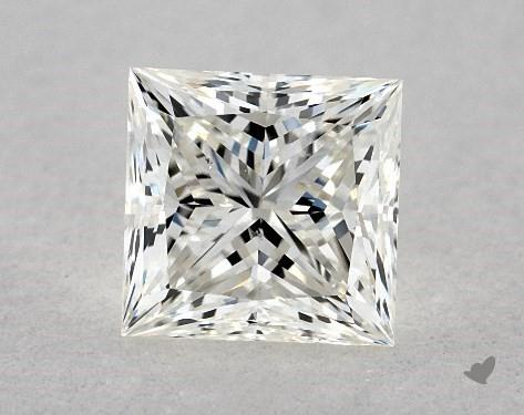 0.82 Carat J-VS2 Ideal Cut Princess Diamond