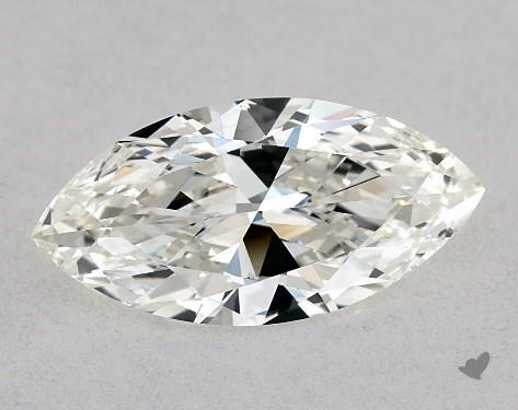 0.76 Carat I-IF Marquise Cut Diamond