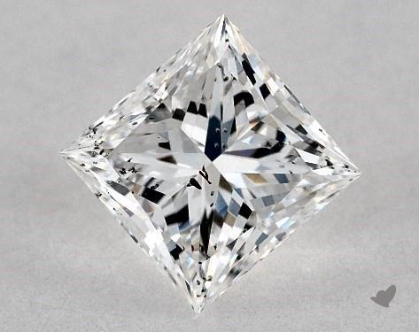 0.72 Carat E-I1 Ideal Cut Princess Diamond