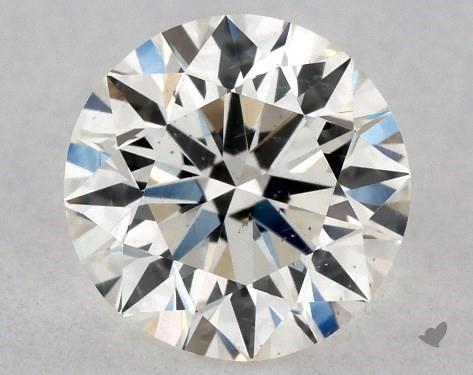 0.50 Carat H-SI1 Excellent Cut Round Diamond