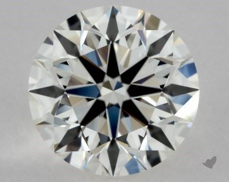 1.43 Carat I-VVS2 Excellent Cut Round Diamond