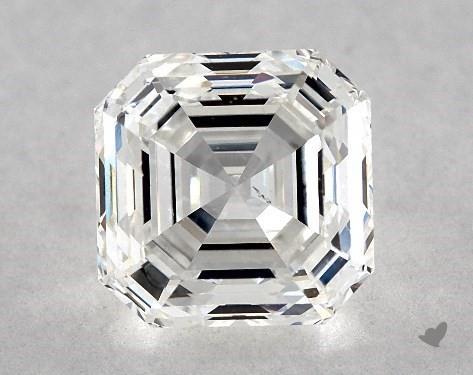 1.51 Carat F-SI1 Asscher Cut Diamond